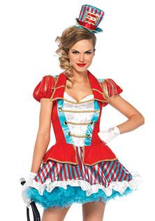 Circus girl entertainer