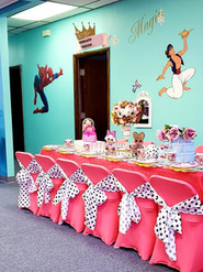 Tea party room