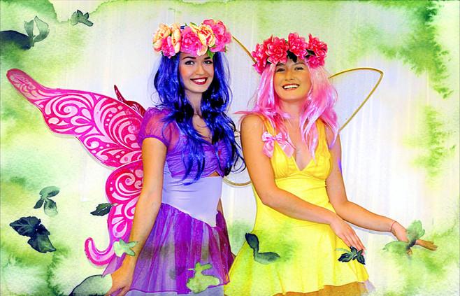 Fiona and Lolita Fairies