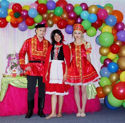 Василиса, Иван и Красная шапочка