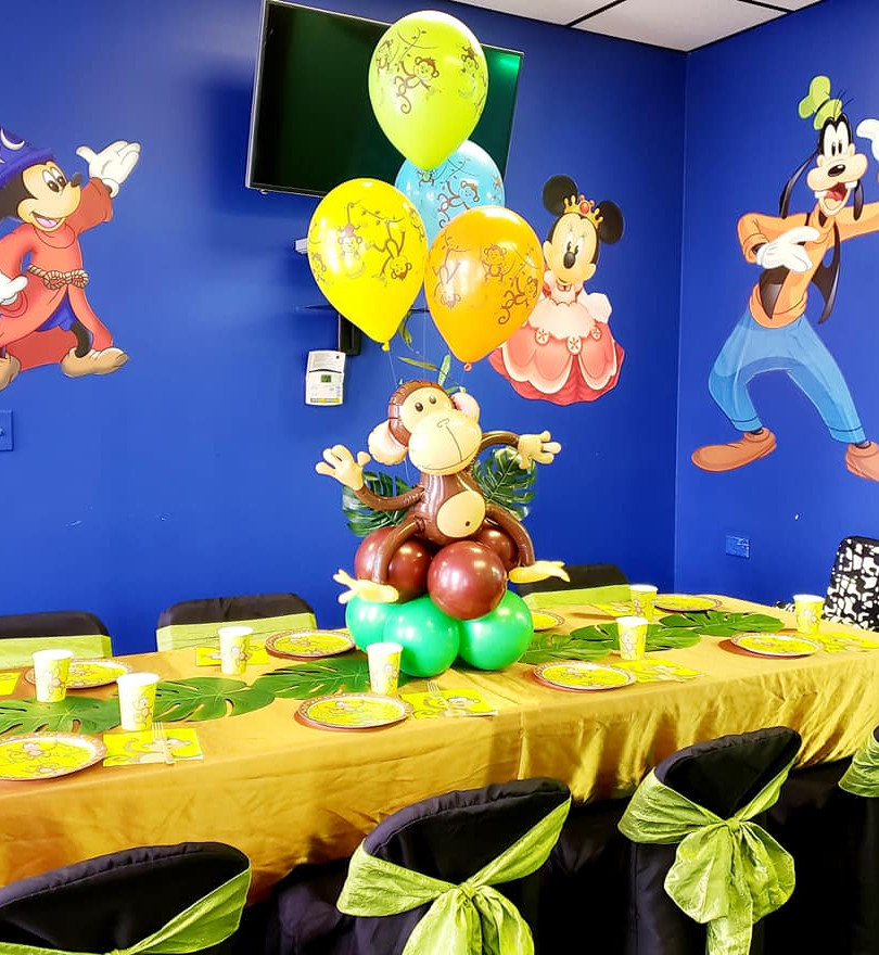 Tea party room