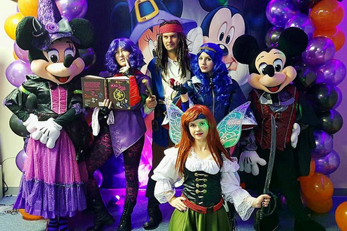 Fairy castle characters