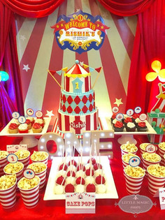 Circus party for boys or girls