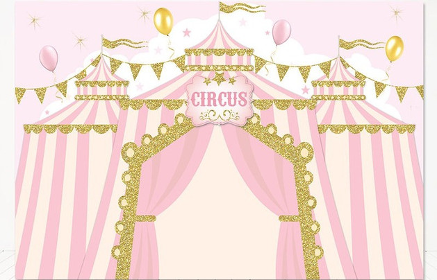 Circus party for girls
