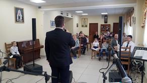 Мероприятие в воскресной школе Москвы