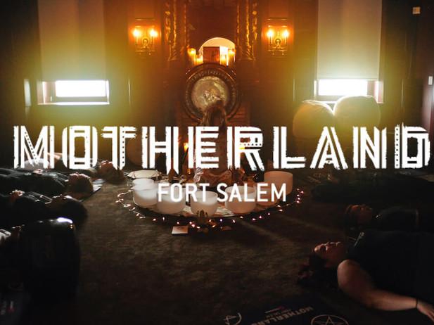 FREEFORM MOTHERLAND: FORT SALEM