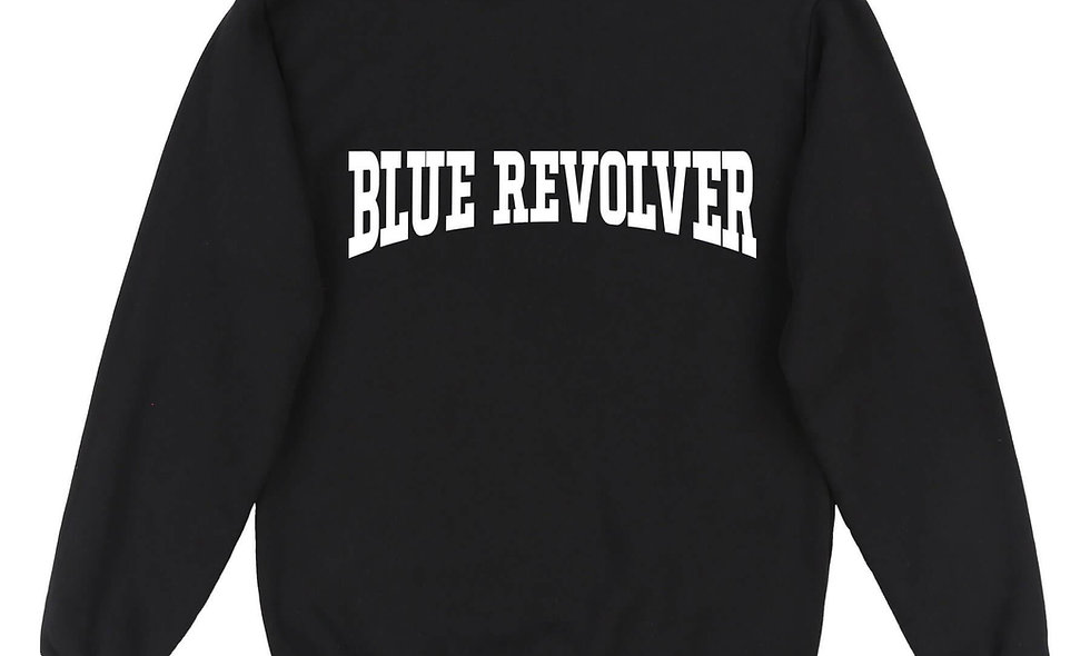 Blue Revolver Crew Black