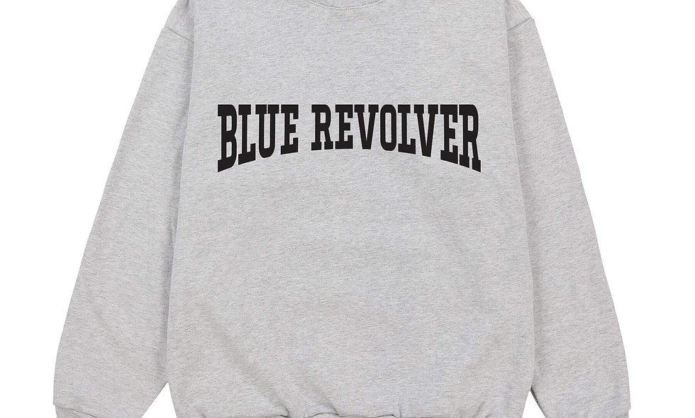 Blue Revolver Crew Grey