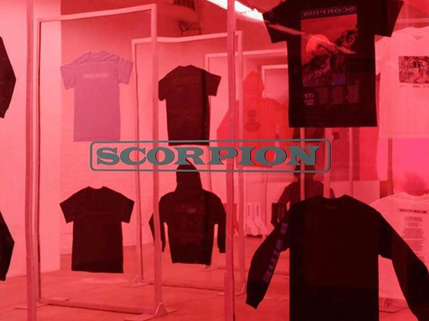 DRAKE SCORPION TOUR POP-UPS