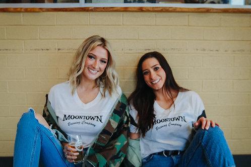 Women's Moontown V-Neck T-Shirt