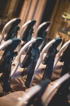 Wedding Chair bows