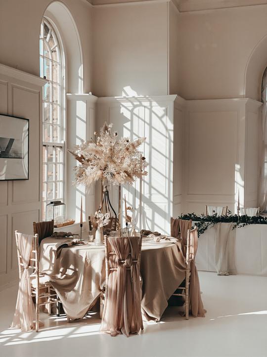 Secret Tower Guest Tables