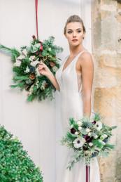 Christmas Wedding Wreath