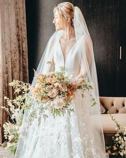Brides Bouquet of Flowers