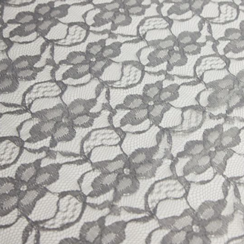 Grey Lace Tablecloth