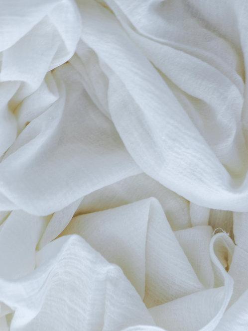 Cream Linen Runner