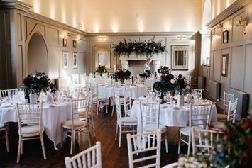 Ellingham Hall Wedding Breakfast