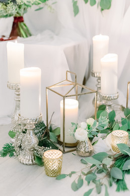 Christmas Wedding Styling