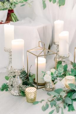Christmas Wedding Styling