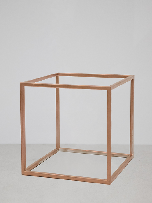 Copper Cube Display