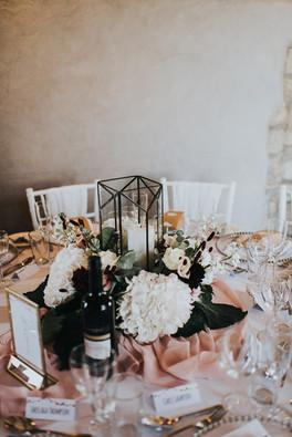 Low Wedding Centrepieces