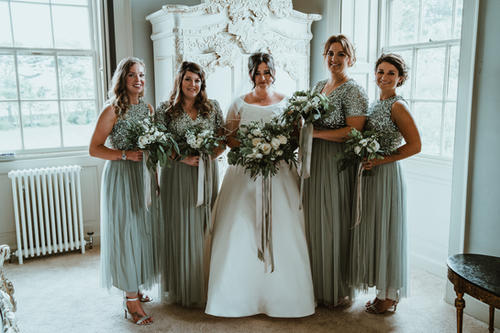 Bride & Bridesmaid Flowers
