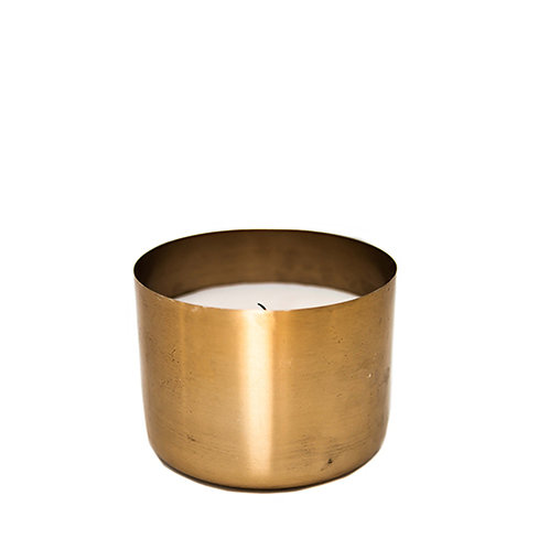 Large Copper Tealight
