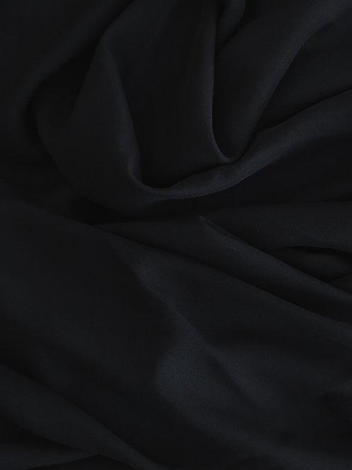 Black Chiffon Runner