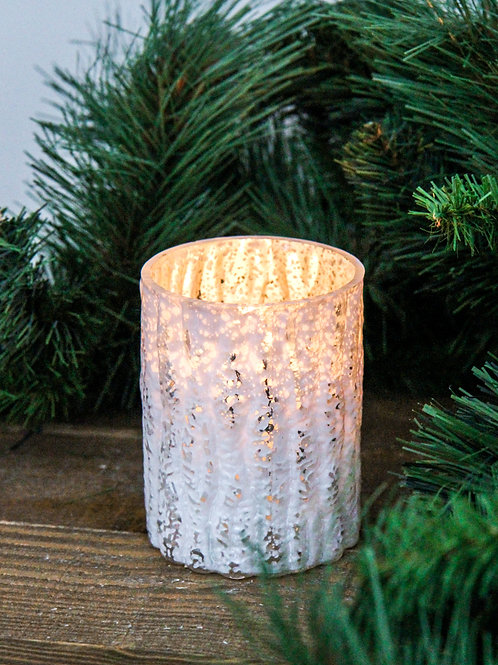 Frosted Glass Tealight