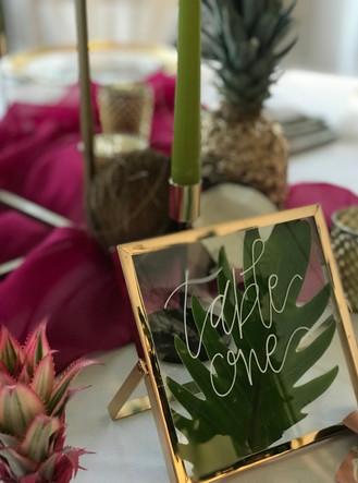 Charlton Hall Wedding Table