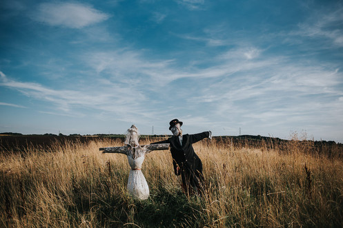 Wedding Scarecrows