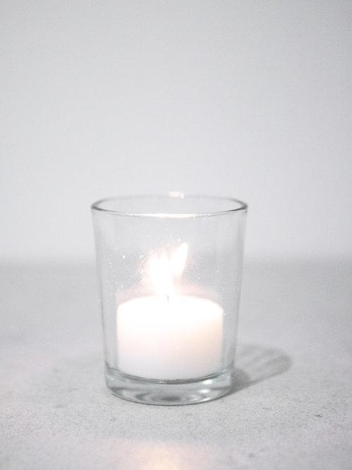 Clear Glass Tealight