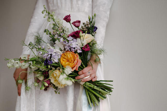 Colourful Handtied Bouquet