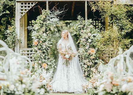 Wild Wedding Archway