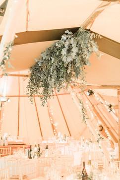 Hanging Wedding Flowers Eucalyptus