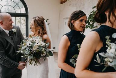 Bride Bouquet Anenomes