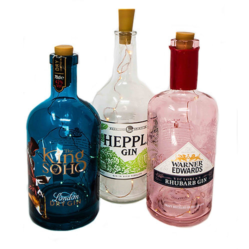 Gin Bottles (Eclectic Mix)