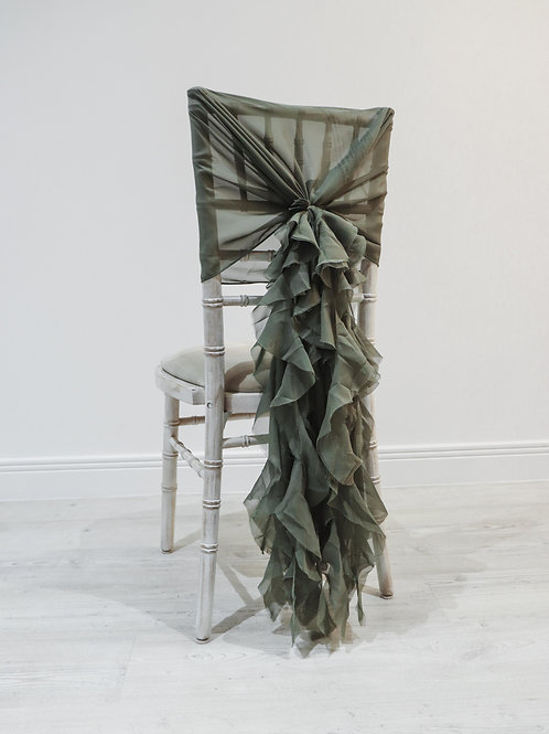 Moss Waterfall Chair Backs