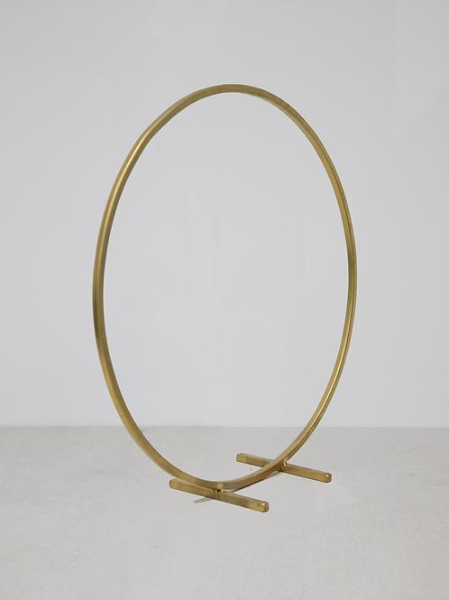 Gold Hoop Centrepiece