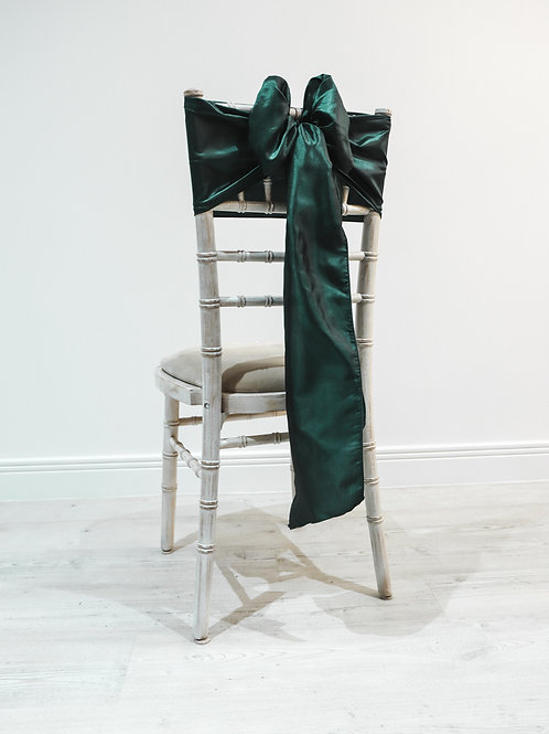 Hunter Taffeta Chair Bow