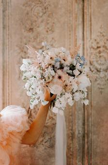 Pink, White & Blue Handtie