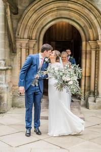 Wedding at Brinkburn Priory