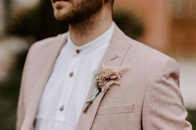 Pink Suit Buttonhole