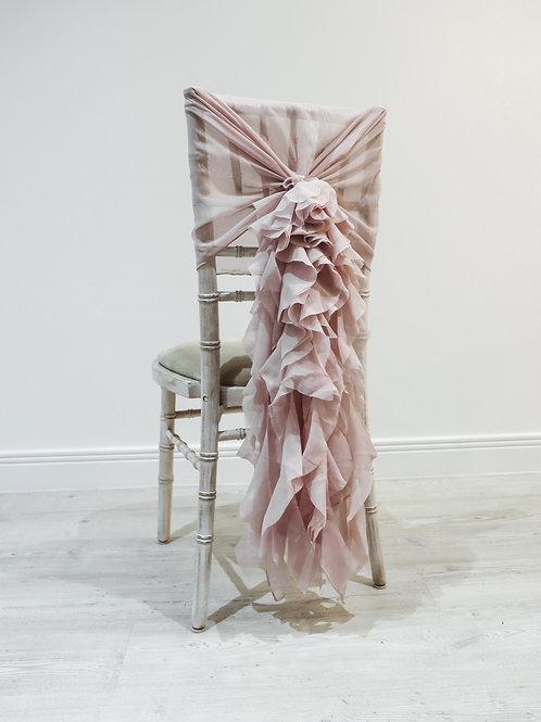 Pink Waterfall Chair Backs