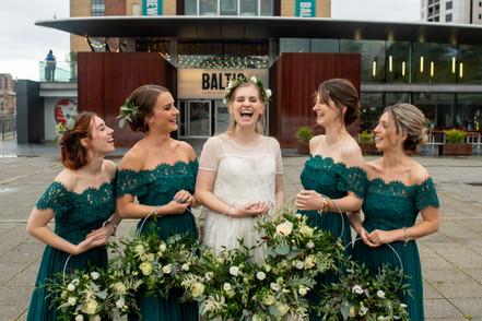 Hoop Wedding Bouquet