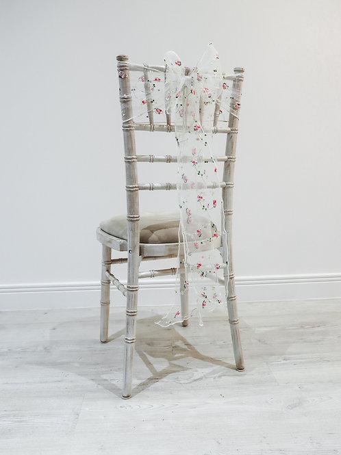 Blossom Organza Chair Bow