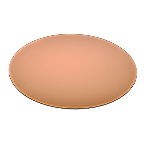 Mirrored Copper Centrepiece Plate - Large