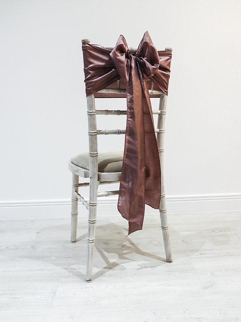 Maple Taffeta Chair Bow