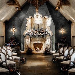 Le Petit Chateau Fireplace