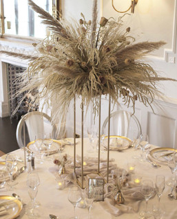 Dried Flower Centrepieces
